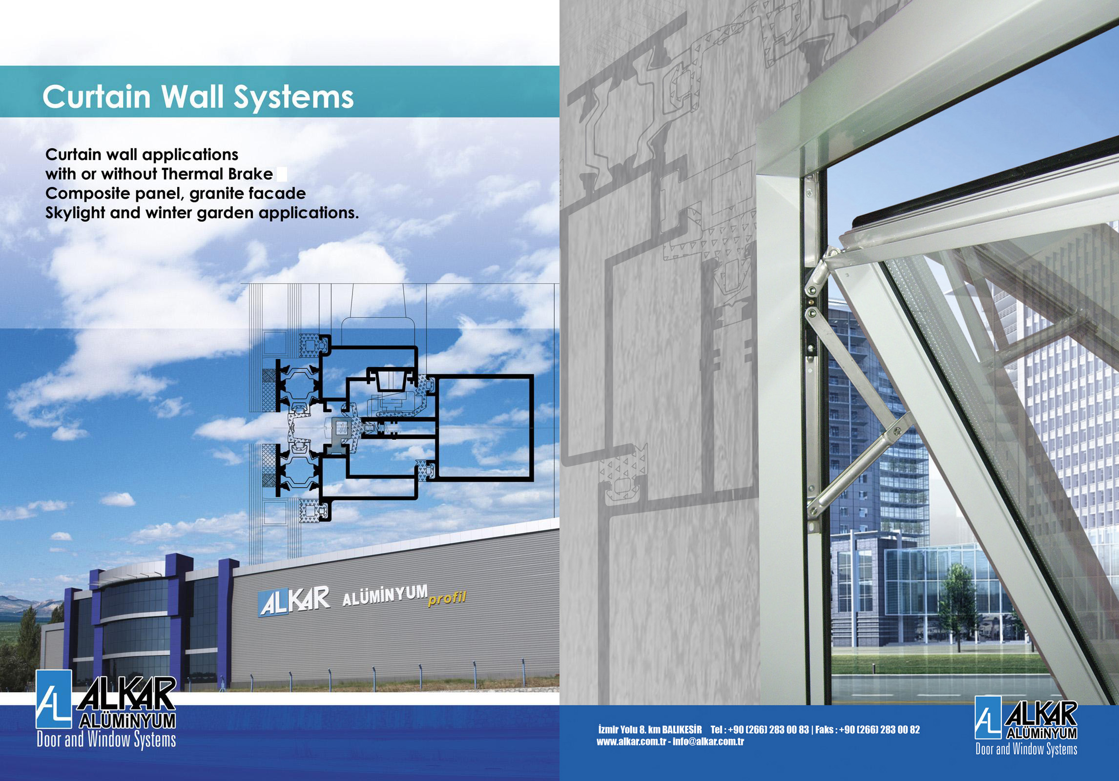 CURTAIN WALL SYSTEMS