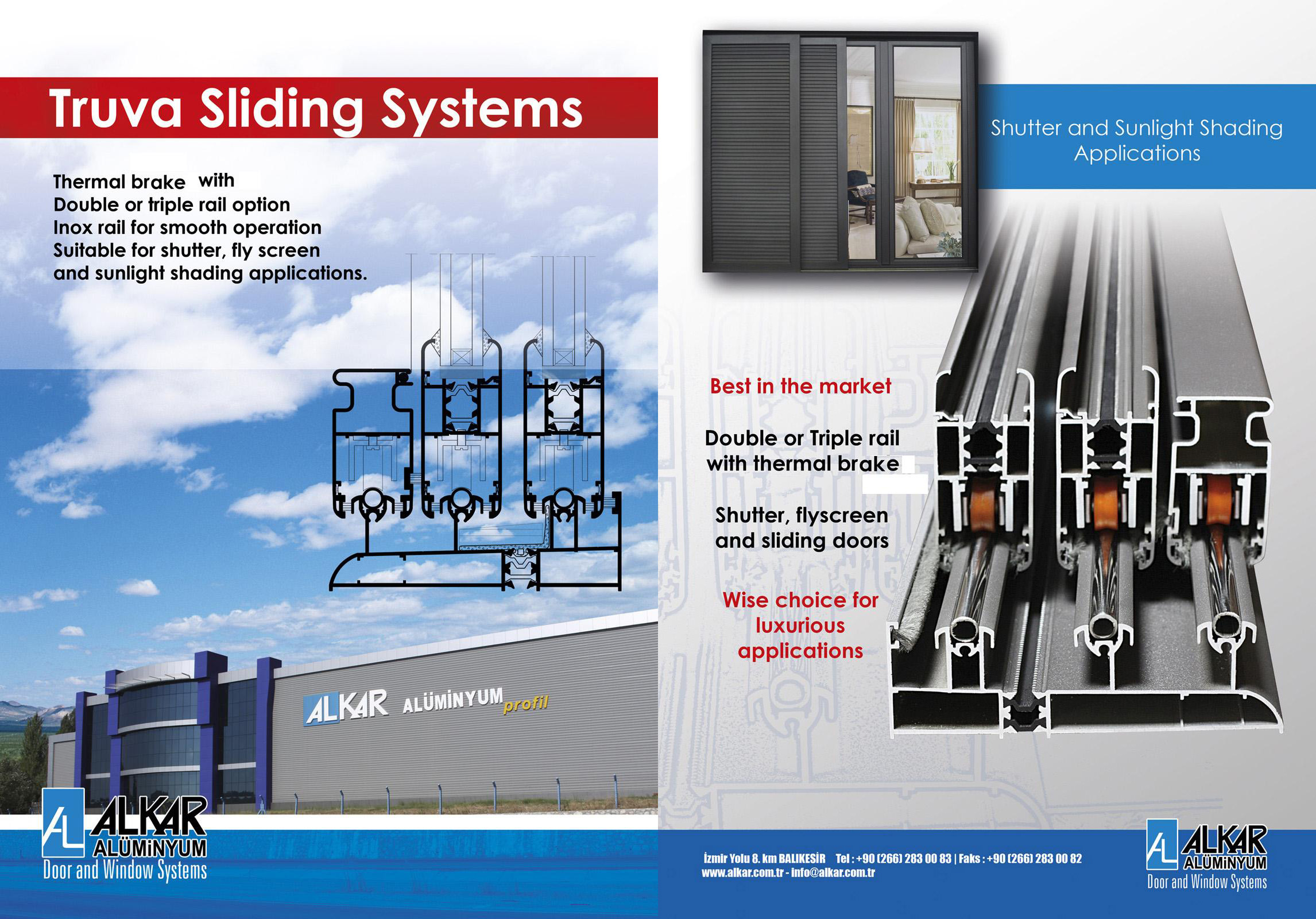 TRUVA SLIDING SYSTEMS